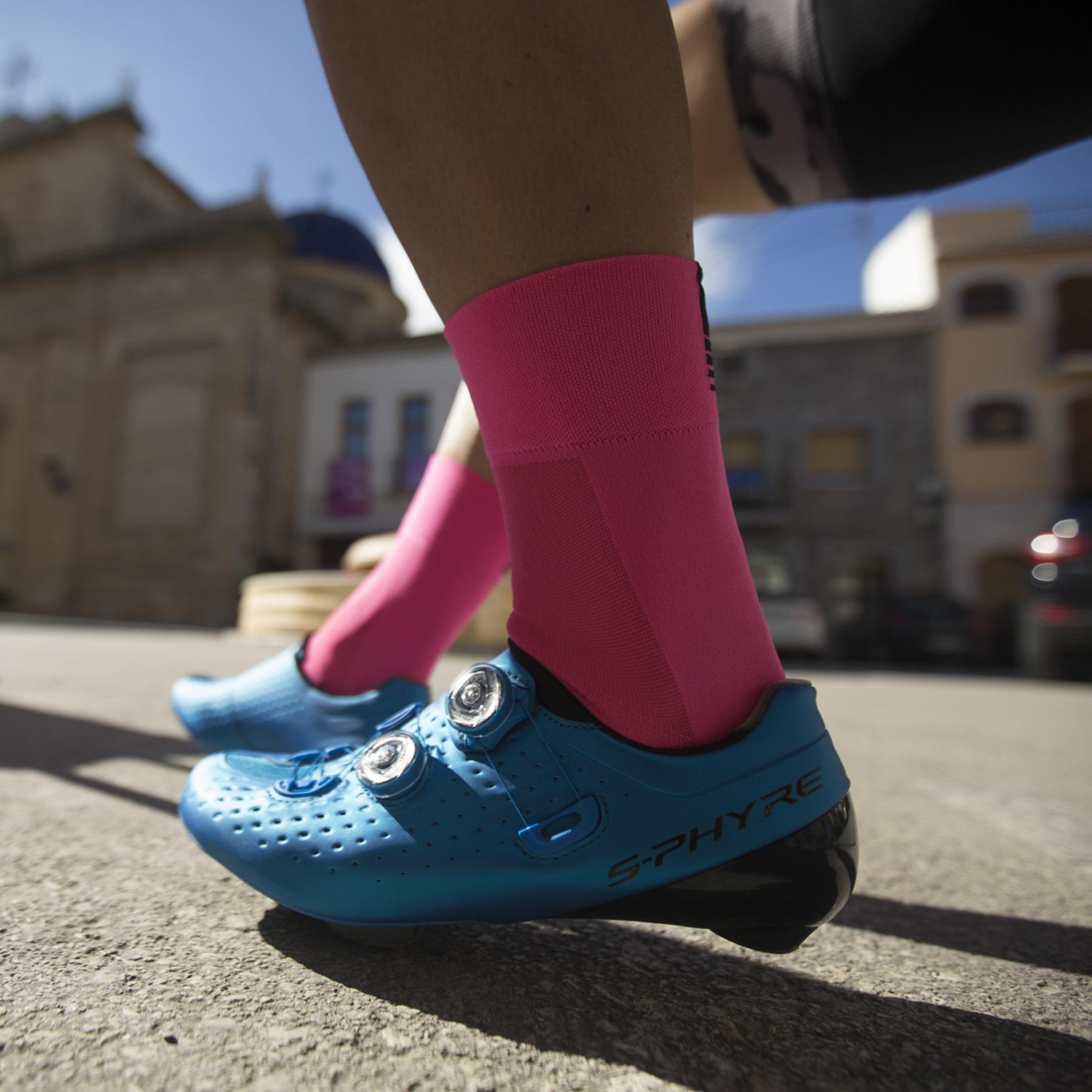 Image of GripGrab Lightweight SL Sock - Pink Hi-Vis