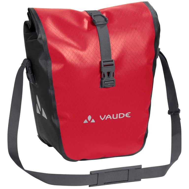 Vaude Aqua Front Fahrradtasche (Paar) - rot