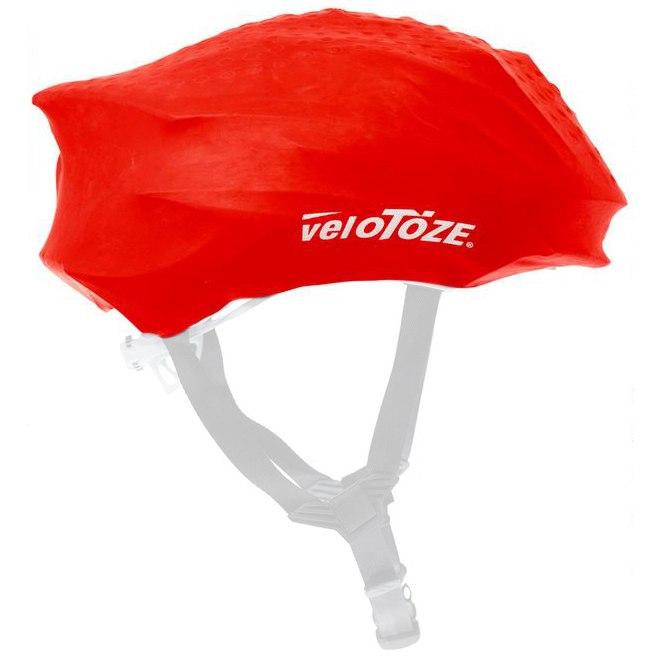 veloToze Helmet Cover Road - red