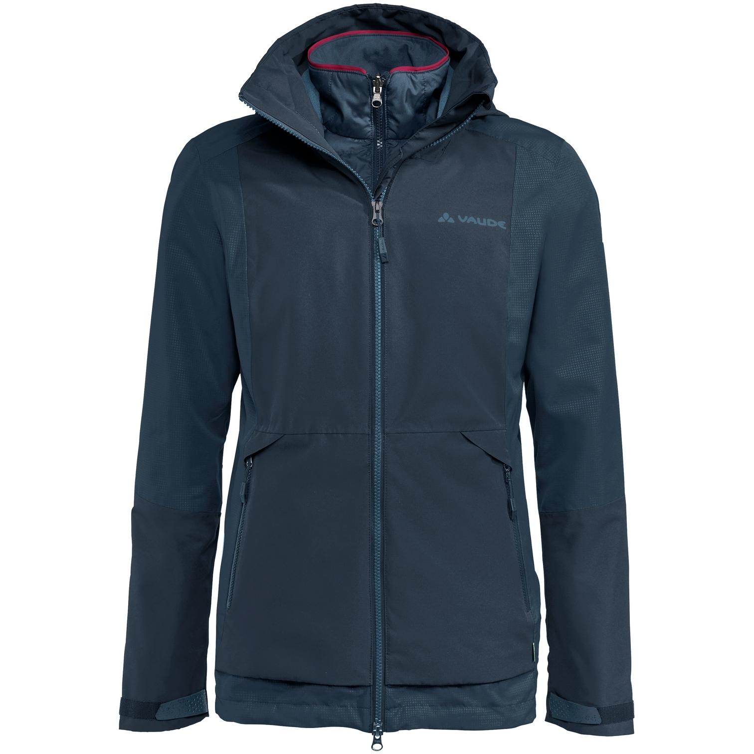 Vaude Women's Elope 3in1 Jacket - dark sea