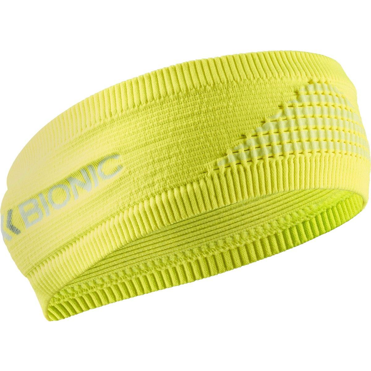 X-Bionic Headband 4.0 - phyton yellow/arctic white