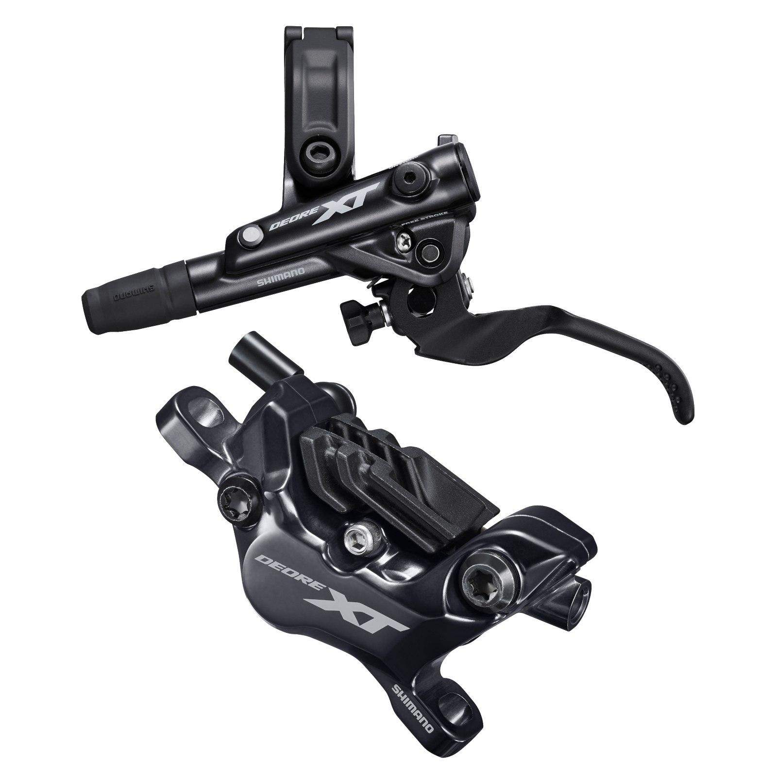 Shimano Deore XT BL-M8100 + BR-M8120 Enduro / Trail Hydraulische Scheibenbremse - I-Spec EV - J-Kit - Set VR