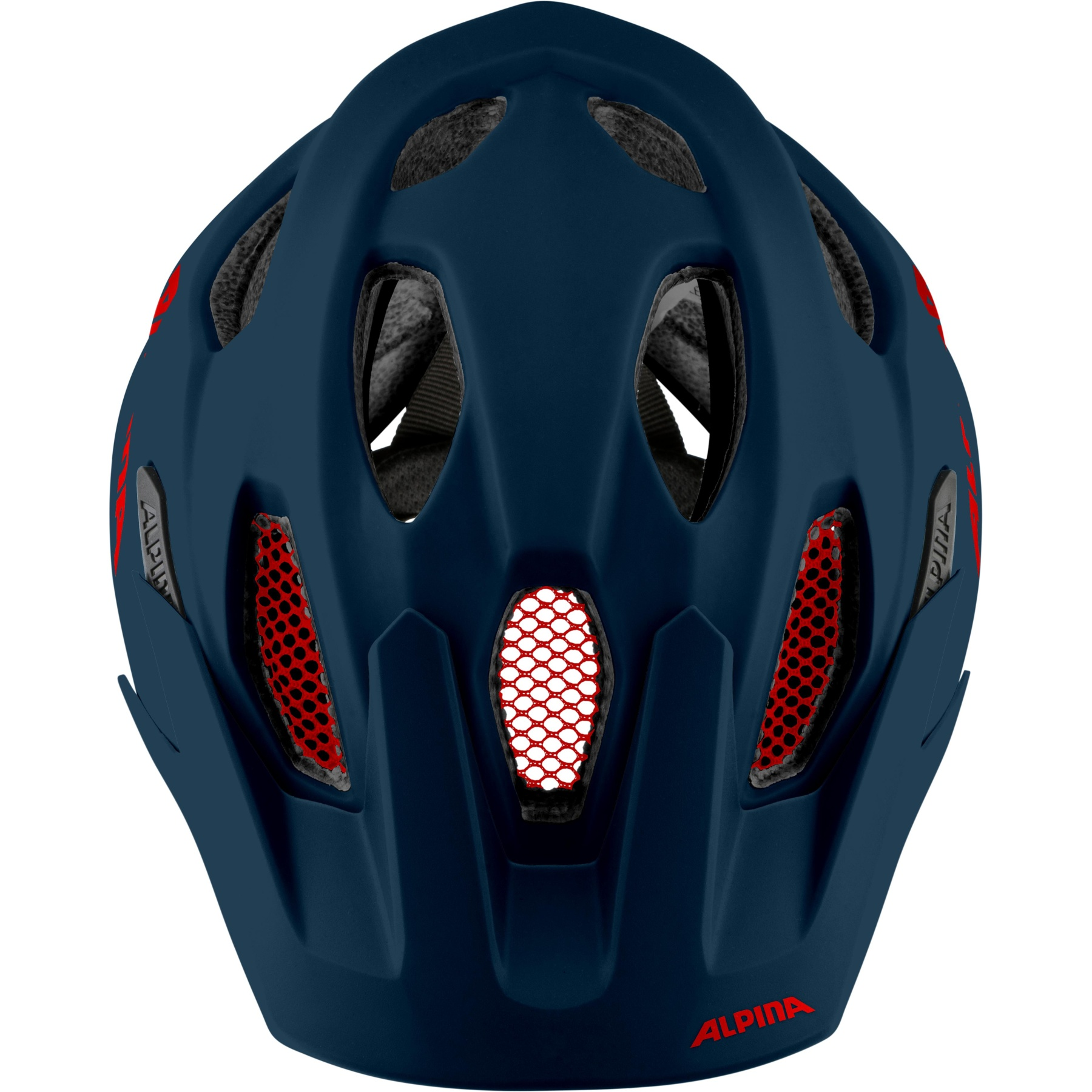 Image of Alpina Carapax JR. Kids Helmet - indigo matt