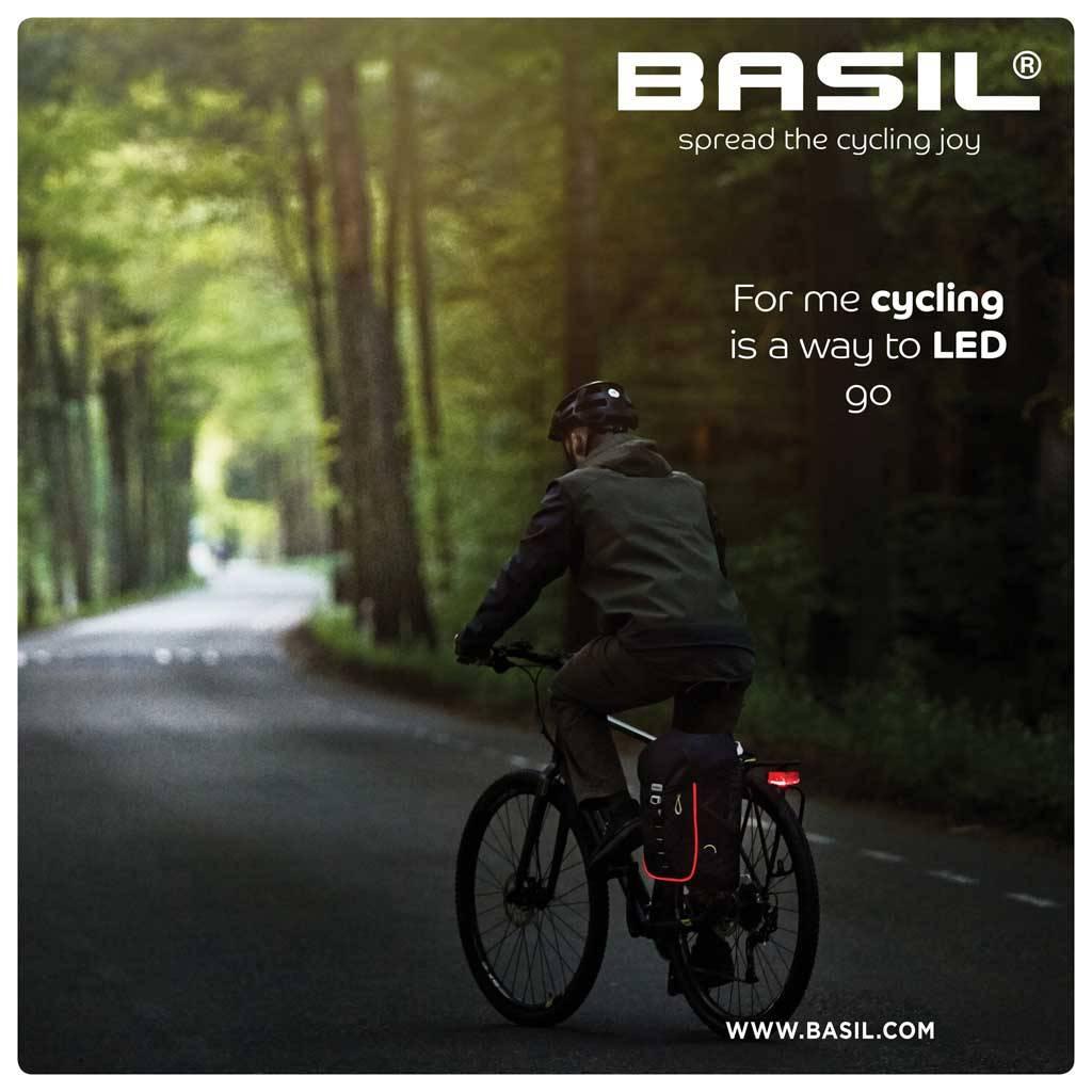 Image of Basil Miles Backpack - black
