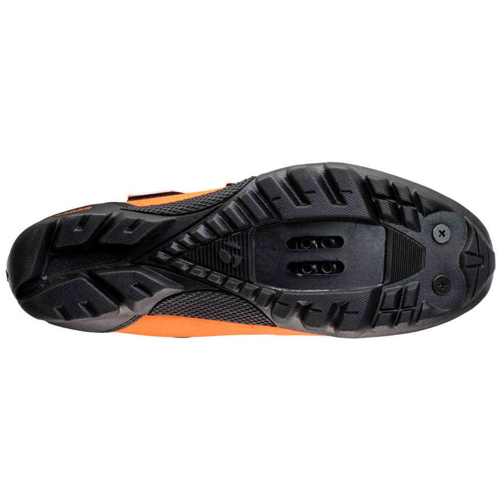 Image of Bontrager Evoke Mountain Shoe - radioactive orange