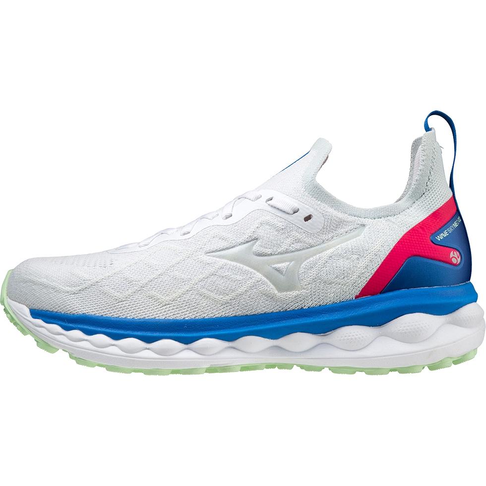 Mizuno Wave Sky Neo 2 Running Shoes - White / White / Princess Blue