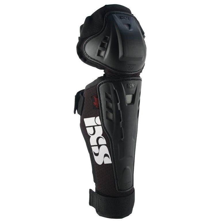iXS Hammer Series Kids Knee-/Shin Guard - black