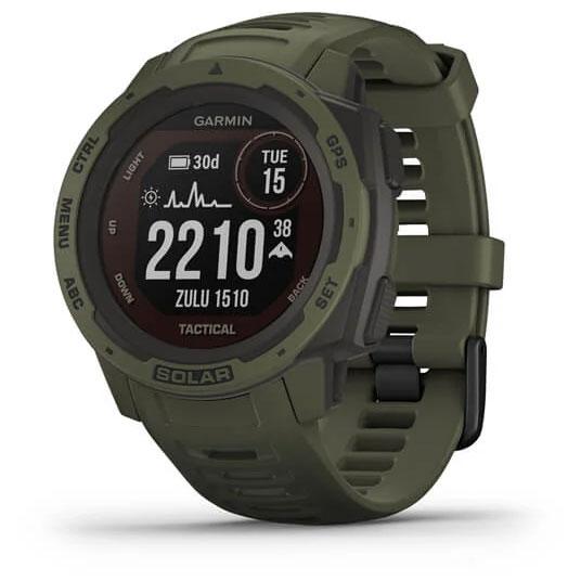 Garmin Instinct Solar Tactical GPS Smartwatch - grün