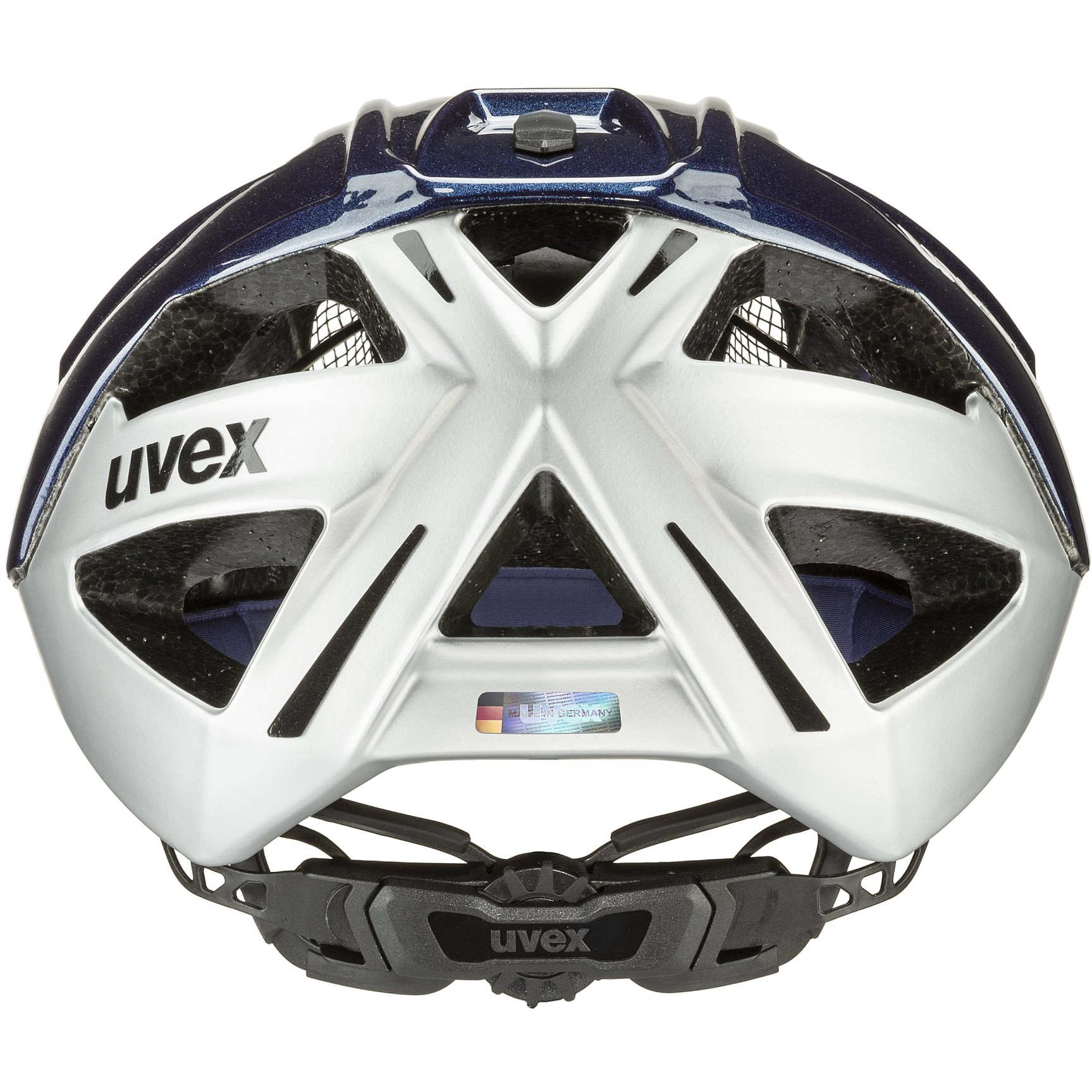 Image of Uvex gravel-x Helmet - deep space-silver