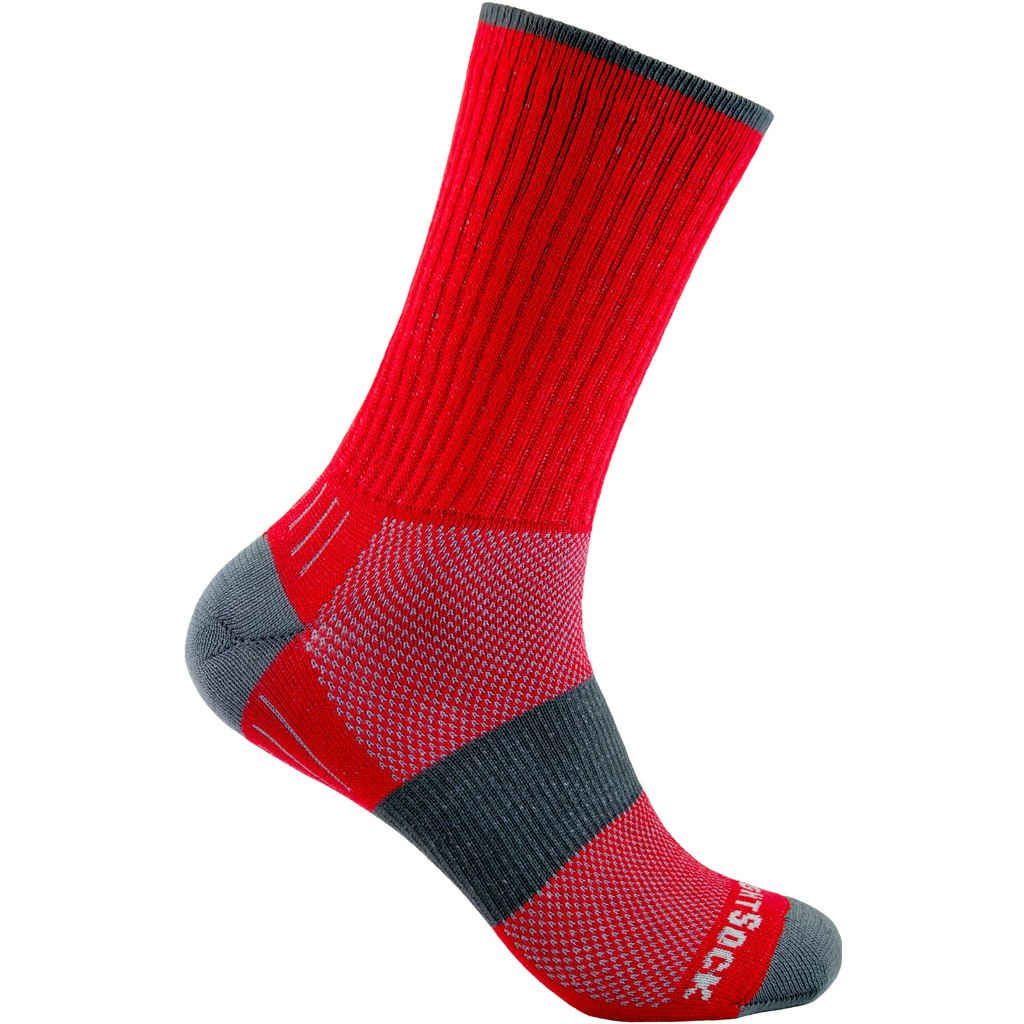 WRIGHTSOCK Escape Crew Double Layer Socks - red - 956-67