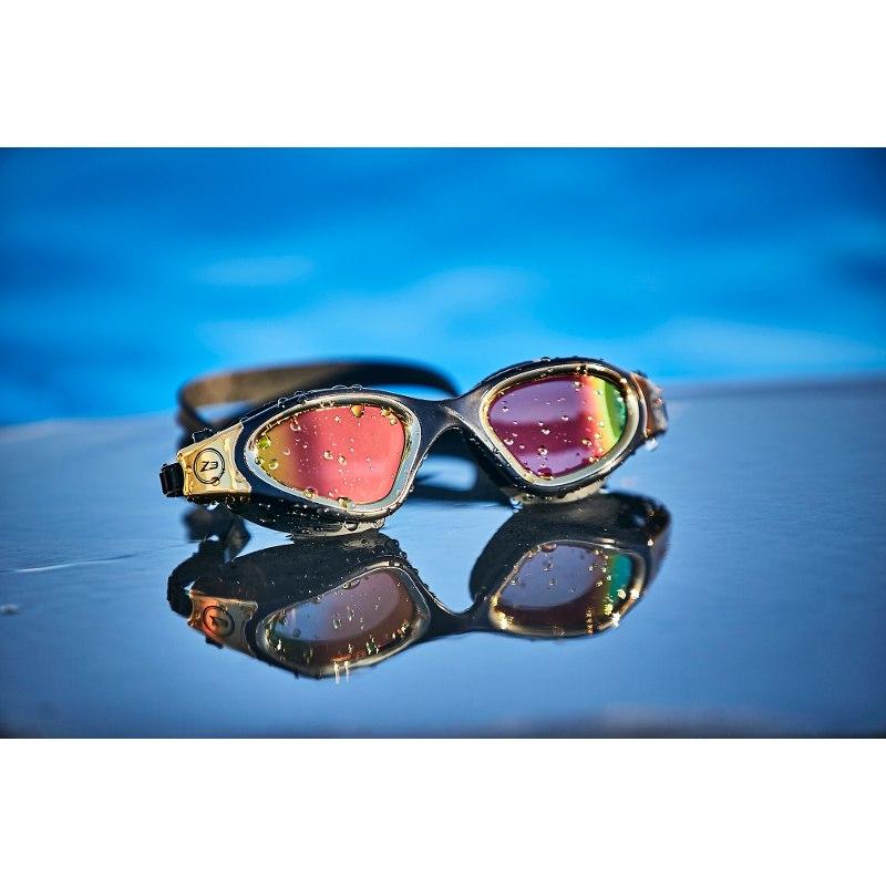 Bild von Zone3 Vapour Schwimmbrille - Polarized - black/gold