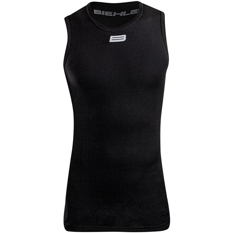Biehler Seamless Pro Sleeveless Baselayer Undershirt - black