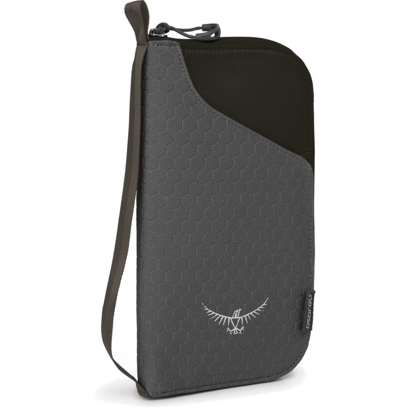 Osprey Document Zip Wallet - Black