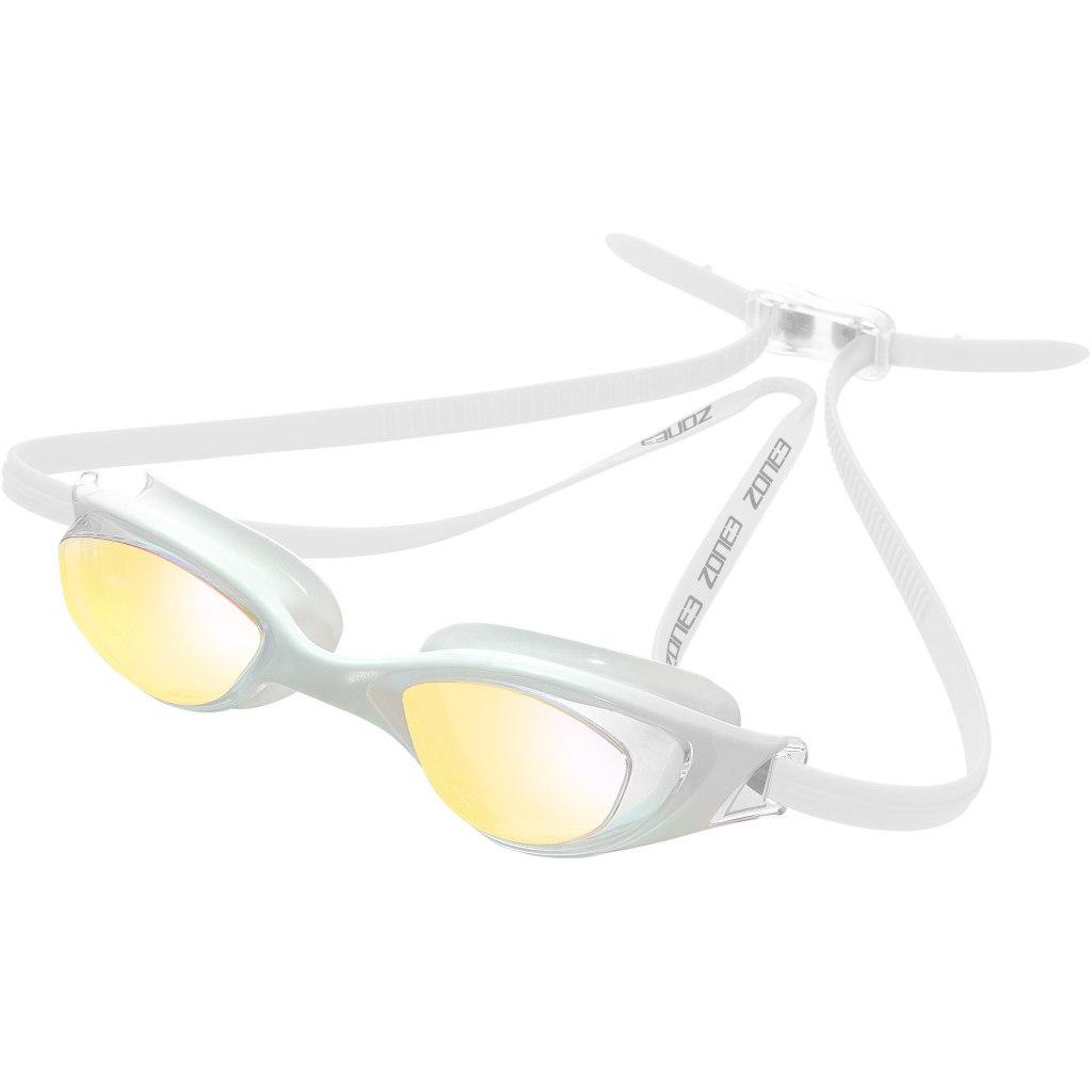 Zone3 Aspect Goggles - Mirror - white/clear
