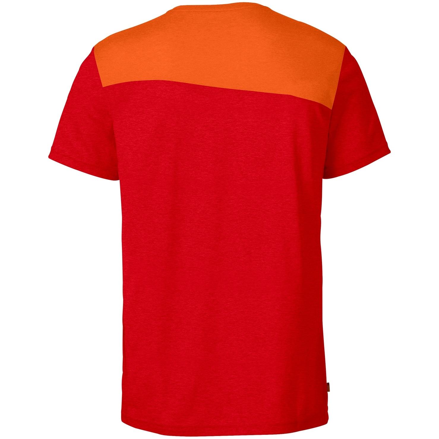 Bild von Vaude Sveit T-Shirt - mars red/tangerine