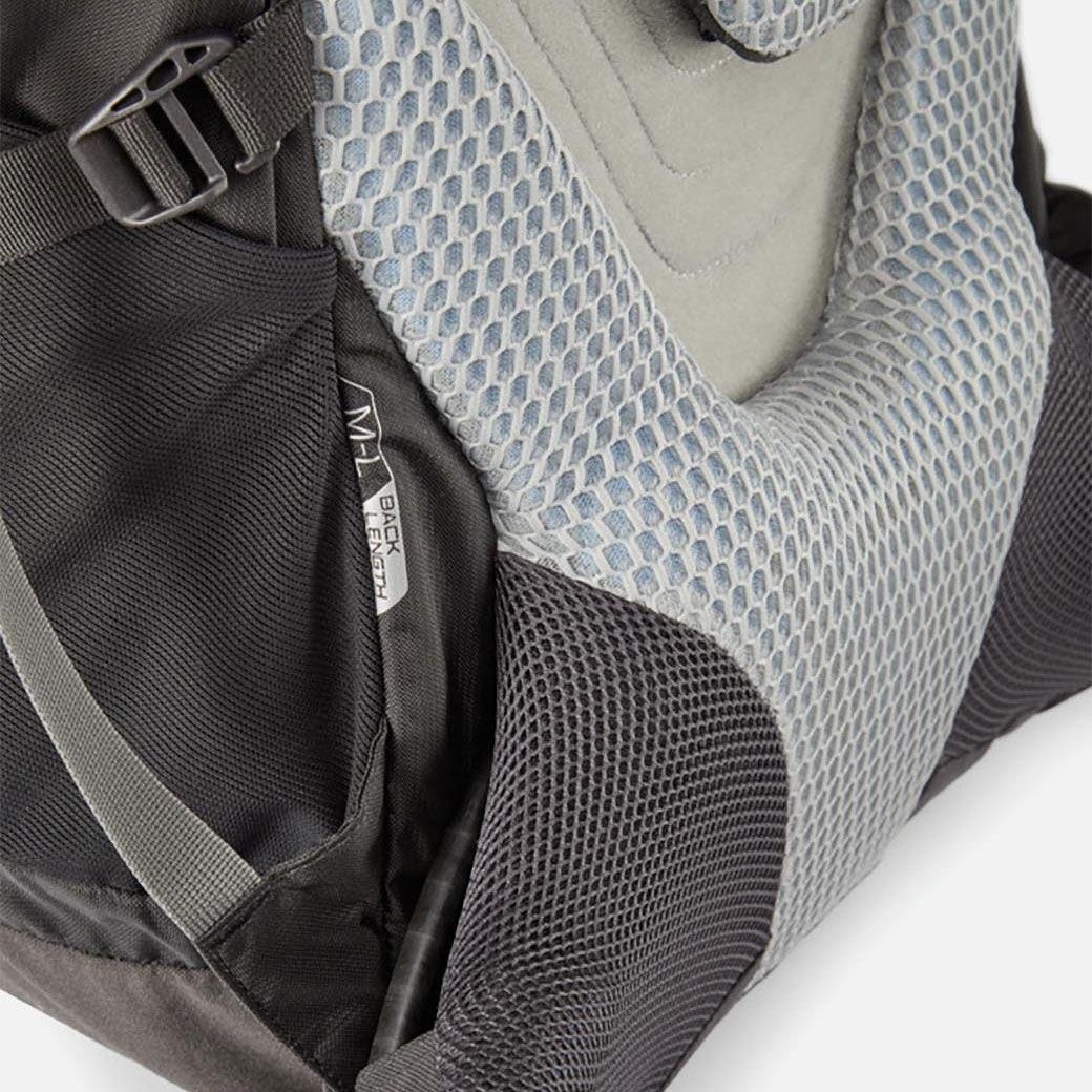 Image of Lowe Alpine Cerro Torre 65:85 Regular Backpack FBQ-01 - Black/Greyhound
