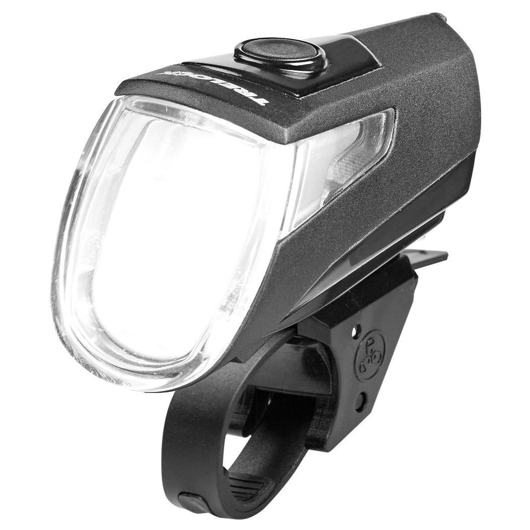 Image of Trelock LS 360 I-GO Eco 25 Front Light - black