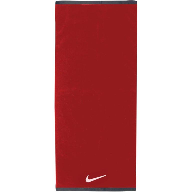 Nike Fundamental Towel Medium - sport red/white 643