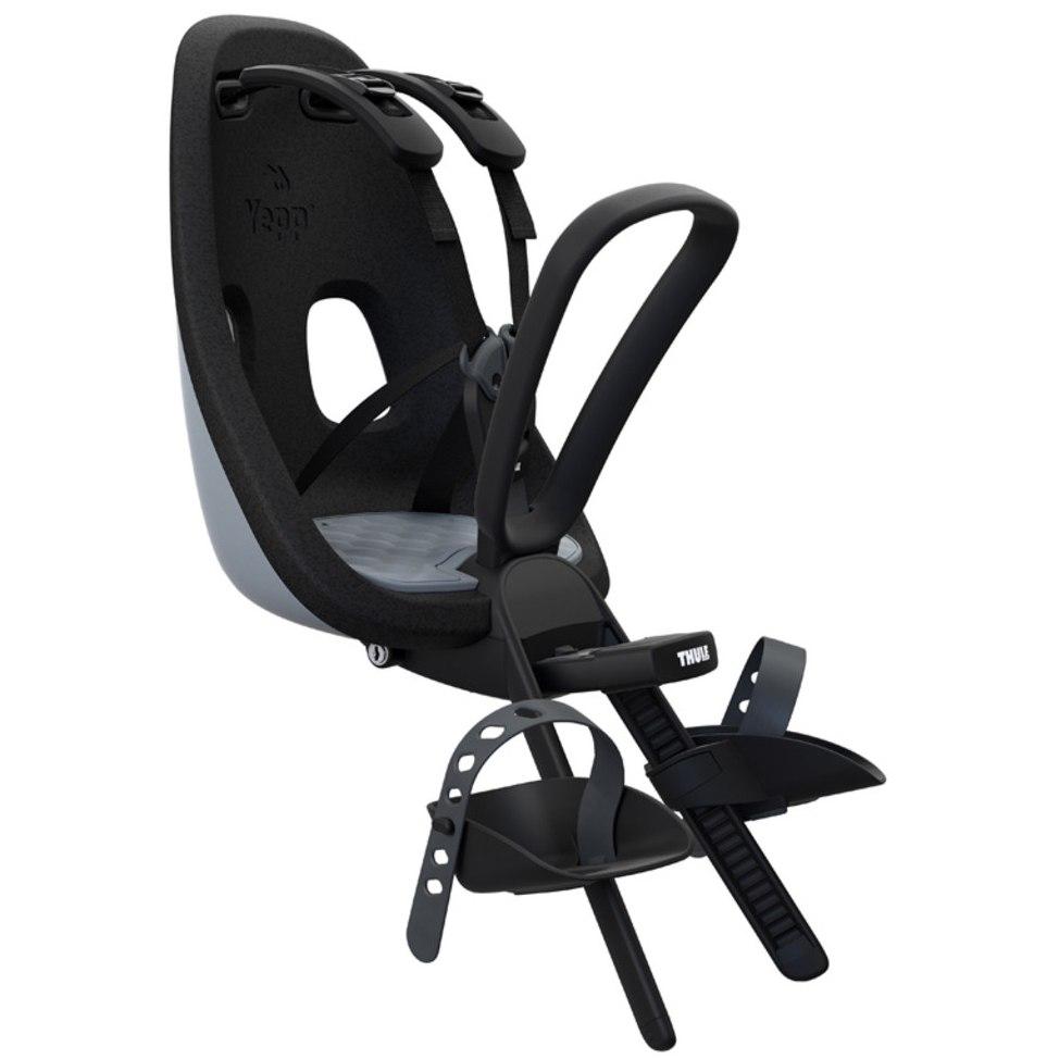 Thule Yepp Nexxt Mini Fahrrad-Kindersitz - Frontmontage - Momentum (grey)