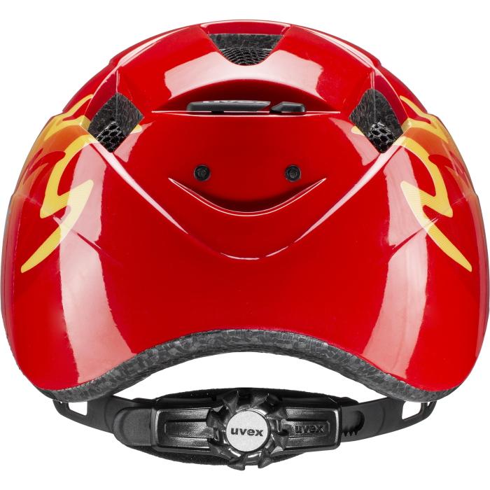 Image of Uvex kid 2 Kids Helmet - red fireman