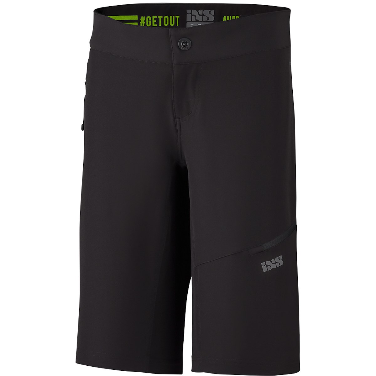 iXS Carve Evo Damen-Shorts - black