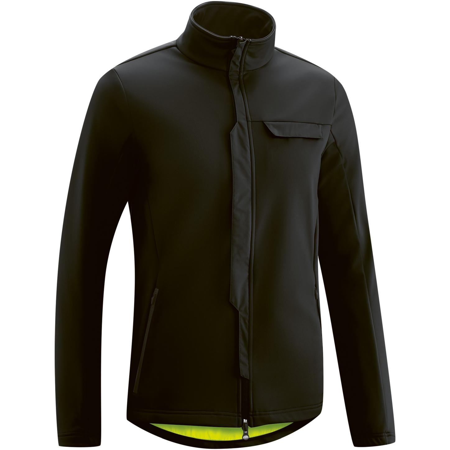 Gonso Ternes Men's Softshell Jacket - Black
