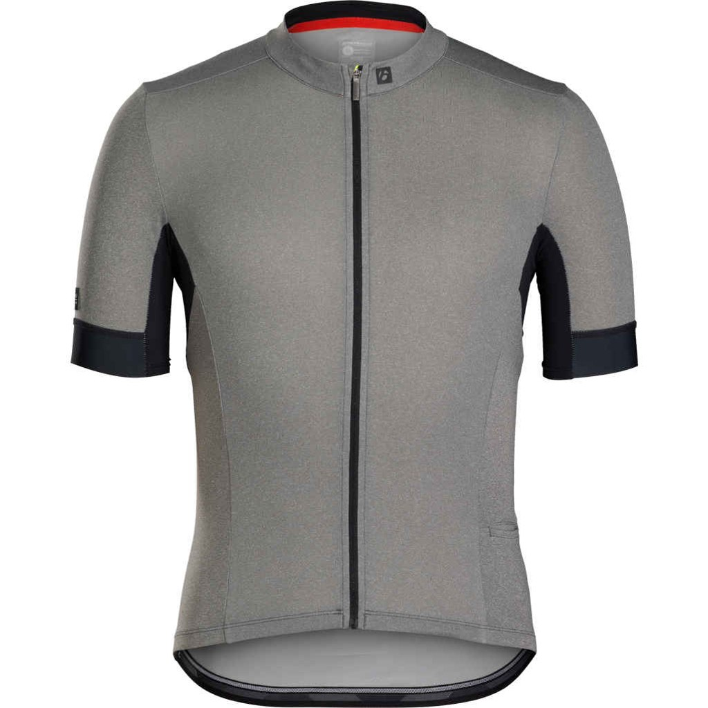 Bontrager Velocis Endurance Cycling Jersey - Charcoal