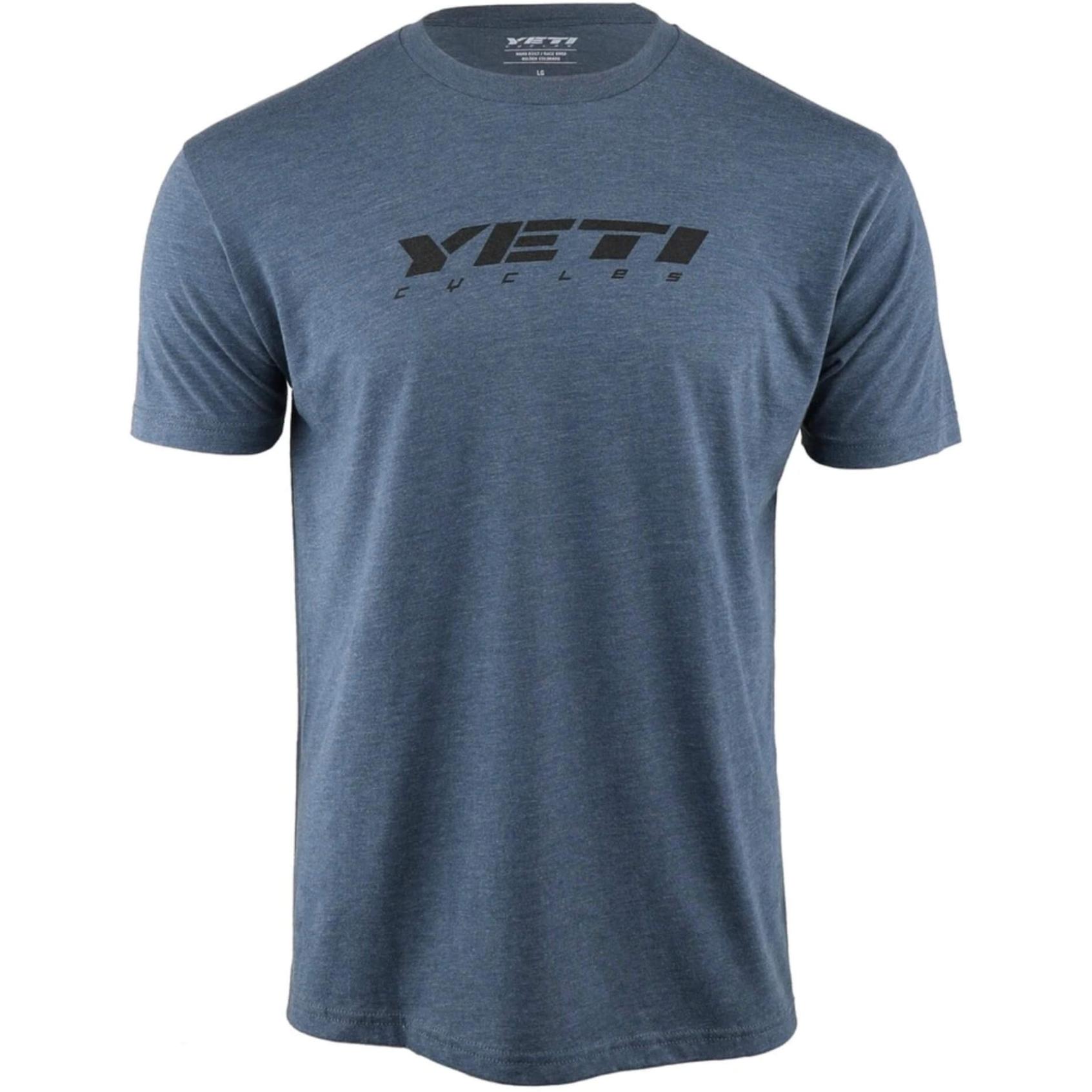 Yeti Cycles Slant T-Shirt - Indigo