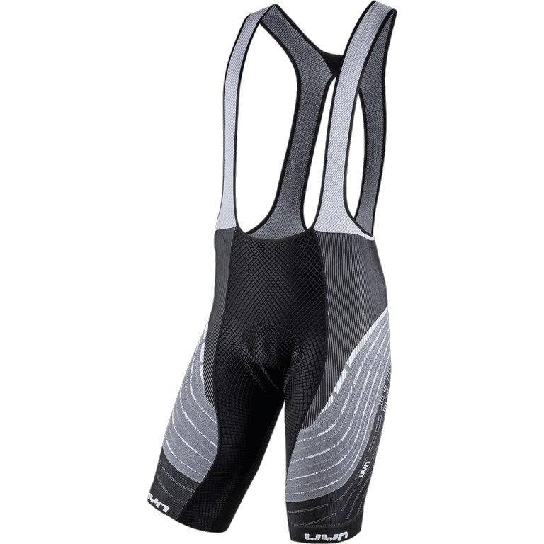 Image of UYN Alpha Biking Man Bib Shorts - White/Black
