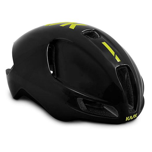 Bild von KASK Utopia WG11 Helm - Black/Yellow Fluo