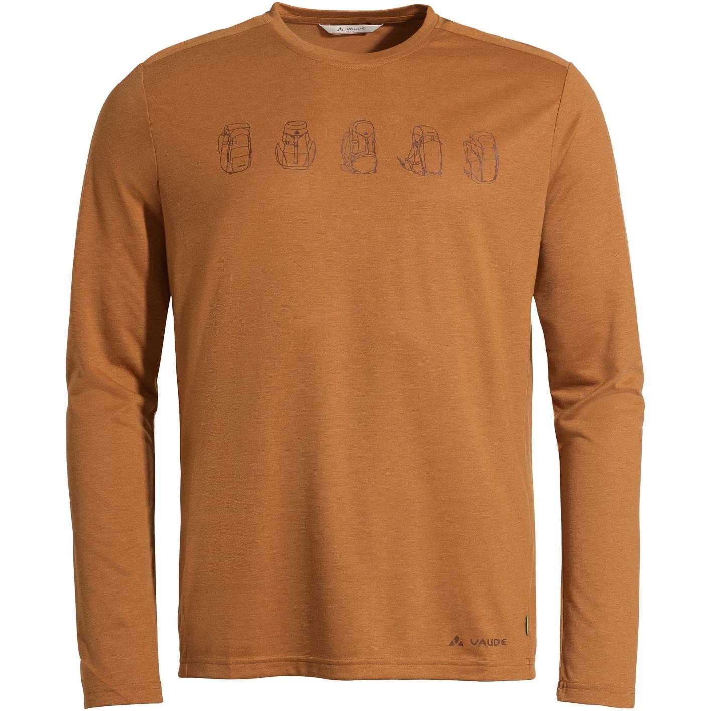 Bild von Vaude Rosemoor LS T-Shirt II - silt brown