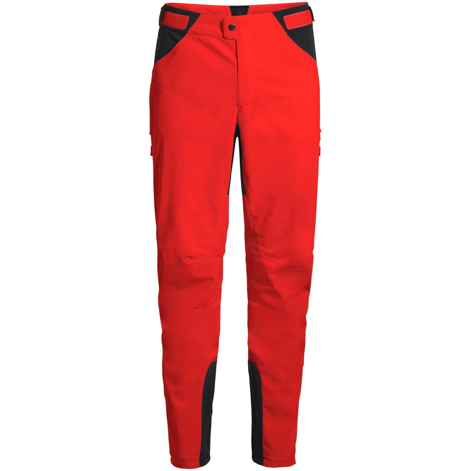 Vaude Qimsa Softshell Pantalones II - mars red