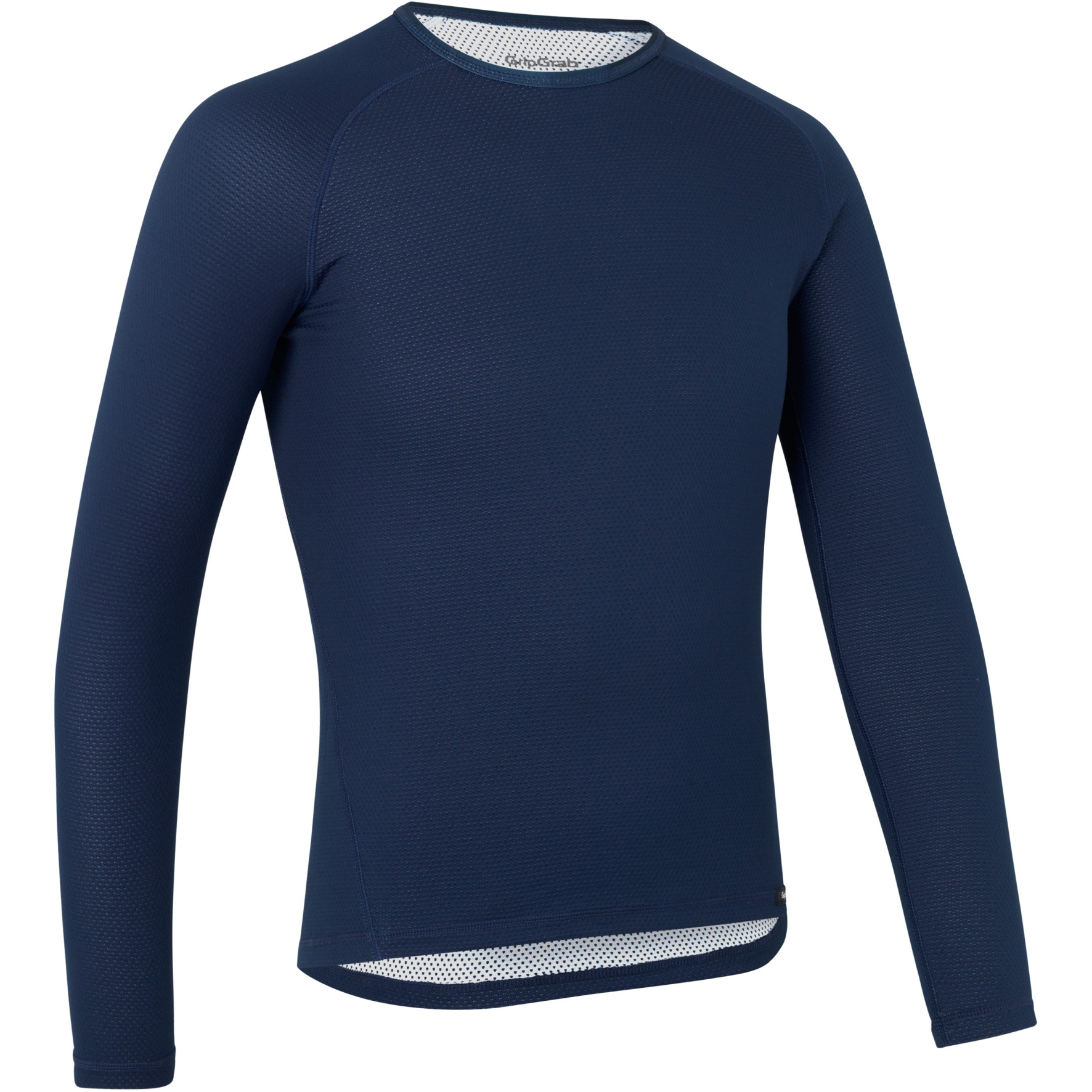 Image of GripGrab Ride Thermal Long Sleeve Base Layer - Navy Blue