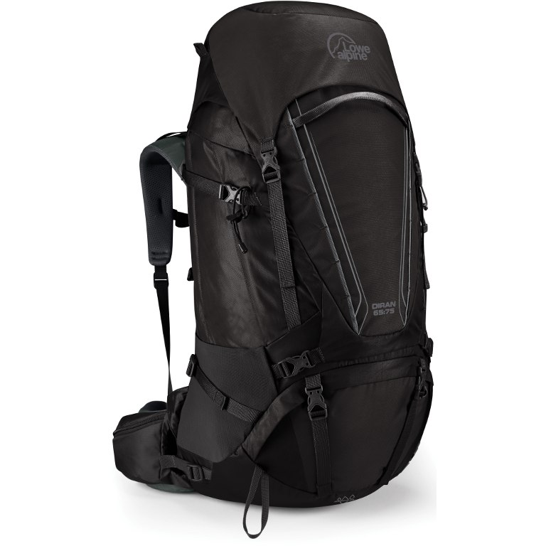 Lowe Alpine Diran 65:75 Backpack Regular - Anthracite/Grey