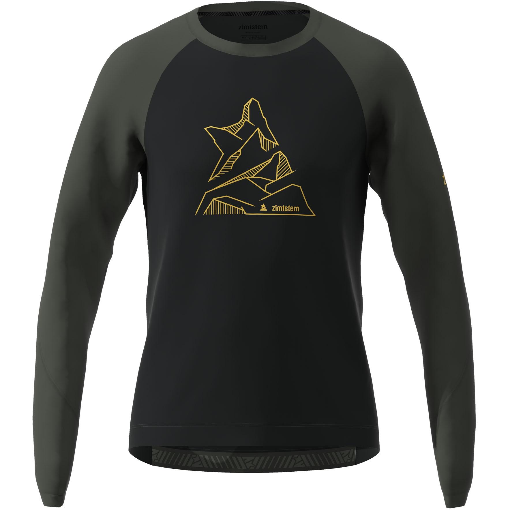 Zimtstern PureFlowz Langarm-Shirt - pirate black/gun metal