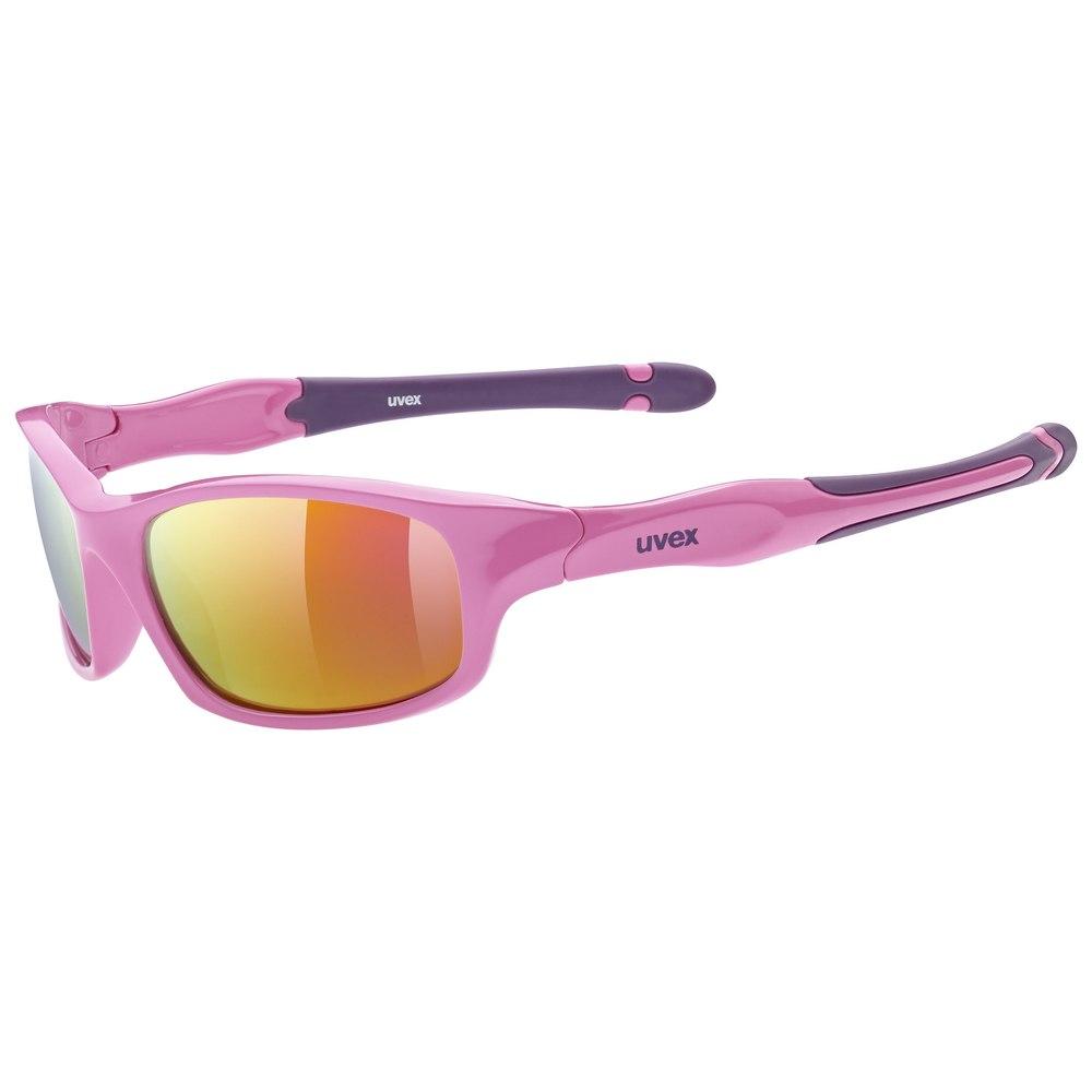 Uvex sportstyle 507 Kinderbrille - pink purple/mirror pink