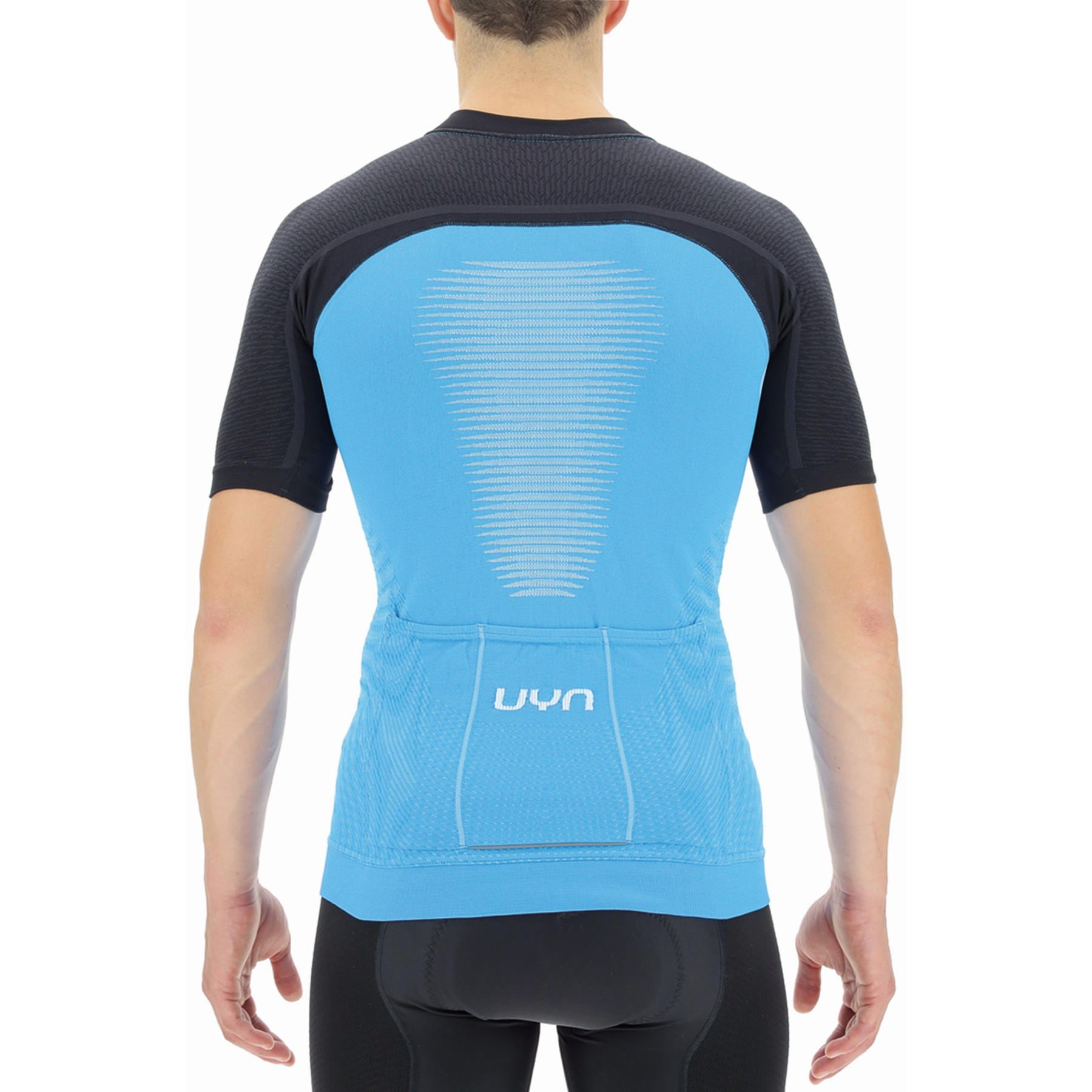 Bild von UYN Biking Granfondo T-Shirt - Danube Blue/Blackboard