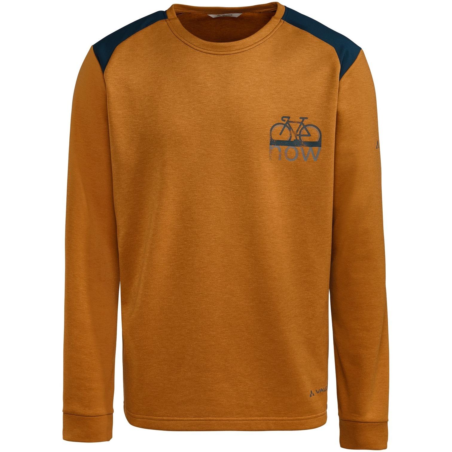 Vaude Men's Cyclist Sweater - silt brown