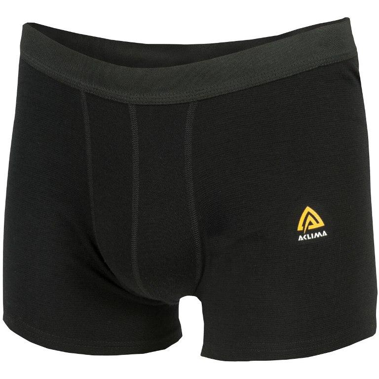 Aclima Warmwool Men's Boxer Shorts - jet black