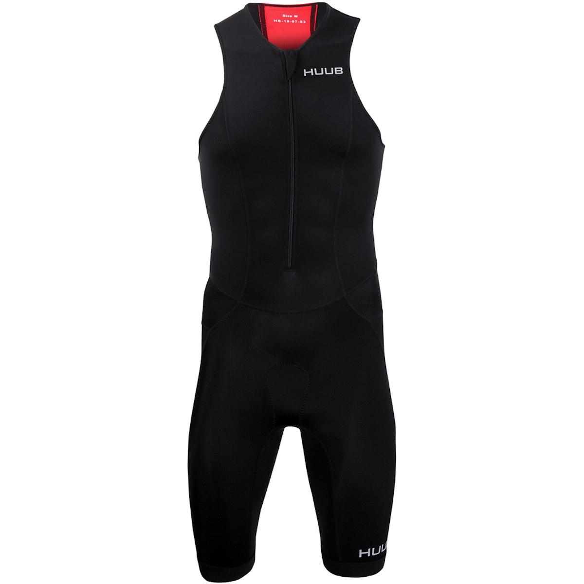Produktbild von HUUB Design Essential Herren Trisuit - schwarz/rot