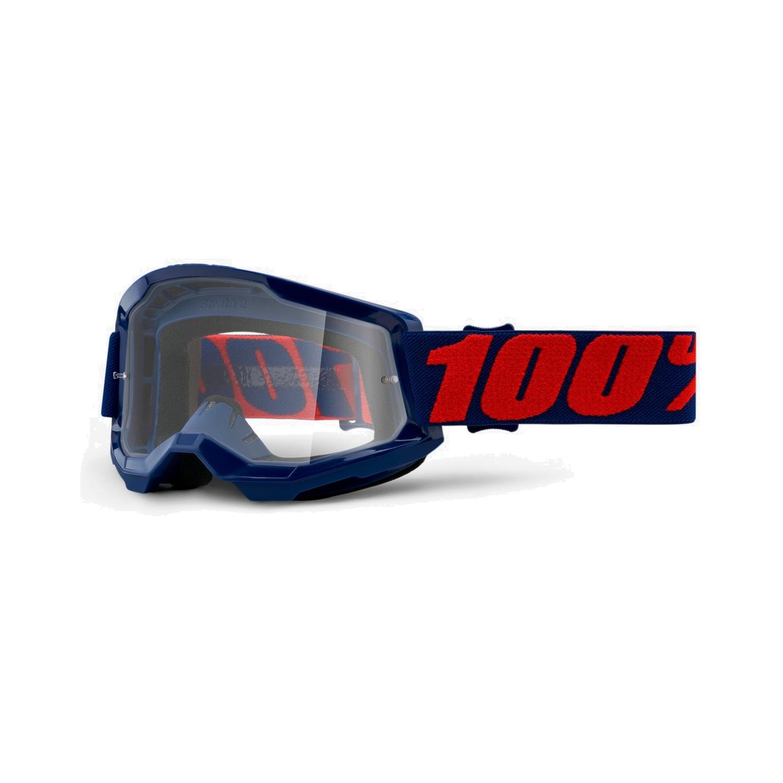 100% Strata 2 Goggle Clear Lens Gafas - Masego