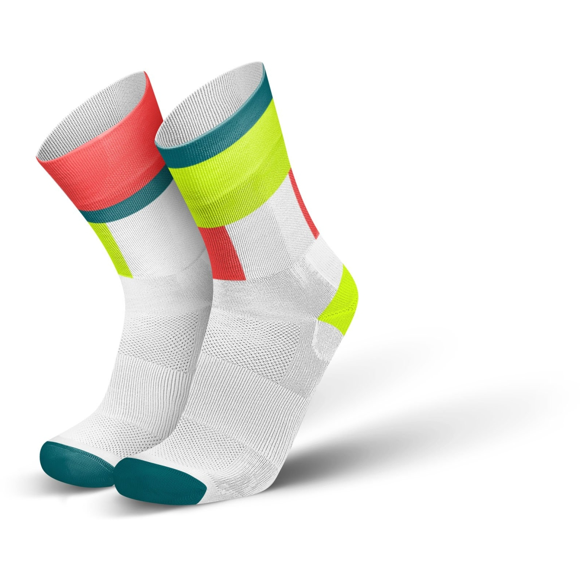 Produktbild von INCYLENCE Ultralight Zones Socken - Canary Inferno
