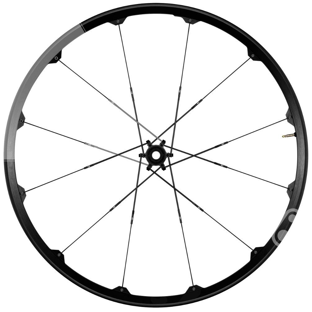 Crankbrothers Cobalt 2 XC - 29 Inches Wheelset - 6-Bolt - FW: 15x100mm | RW: 12x142mm - black/grey