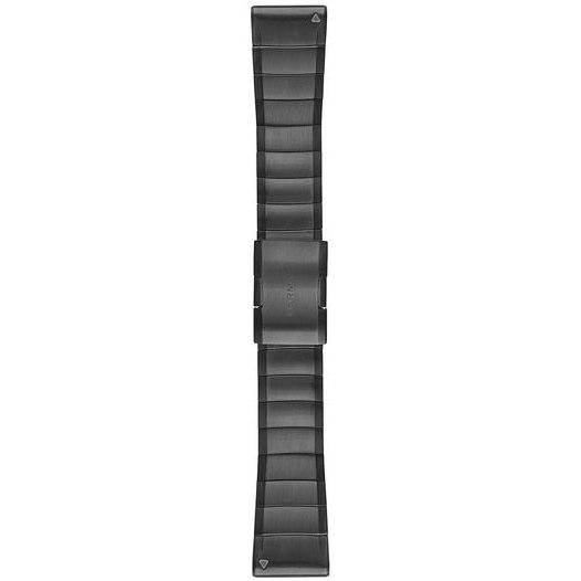 Picture of Garmin QuickFit 26 Watch Band for fenix 3 / 5X / Enduro / quatix 3 / tactix Bravo - Carbon Gray DLC Titanium - 010-12741-01
