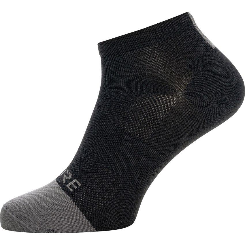 Foto de GORE Wear M Light Calcetines cortos - black/graphite grey 9991