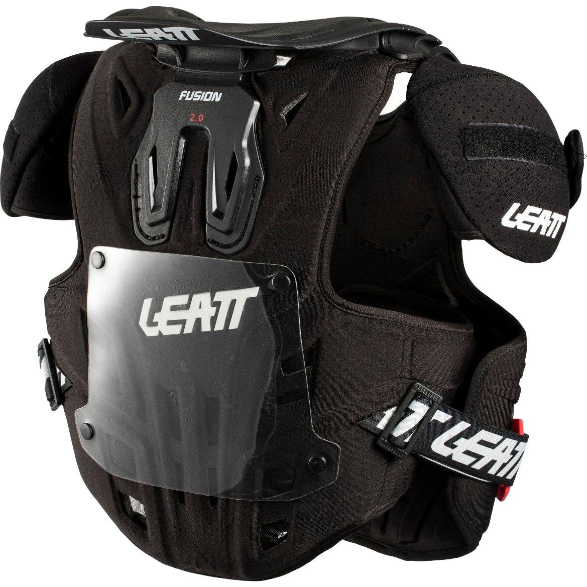 Bild von Leatt Fusion Vest 2.0 Junior - Hals- und Oberkörperprotektor für Kinder / Jugendliche - black