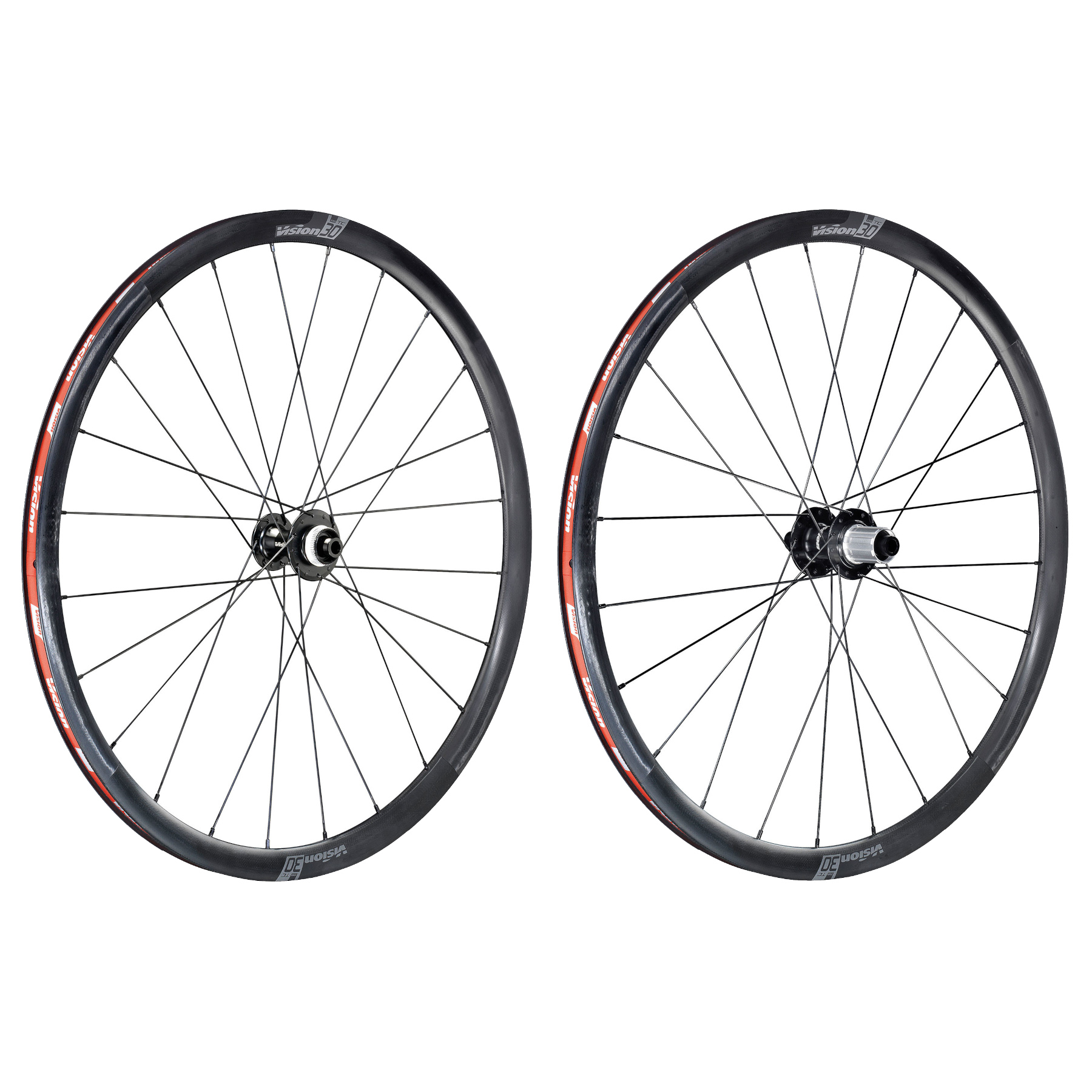 Vision TC 30 Disc Carbon Laufradsatz - TLR - Centerlock - 12x100mm | 12x142mm - Shimano HG
