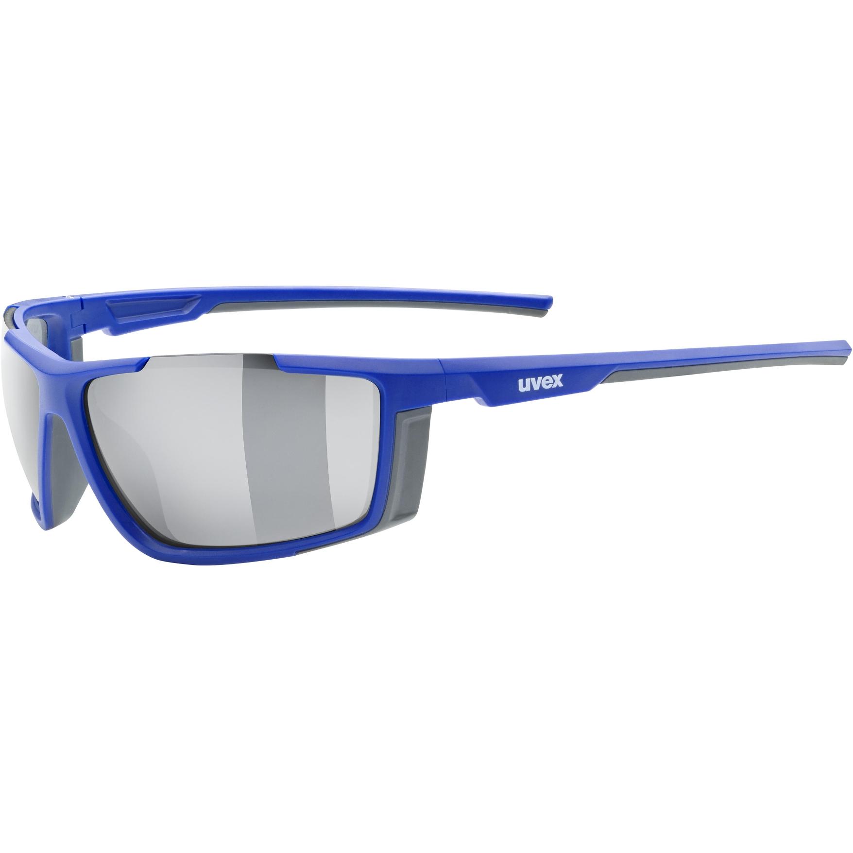 Uvex sportstyle 310 Brille - blue mat/mirror silver