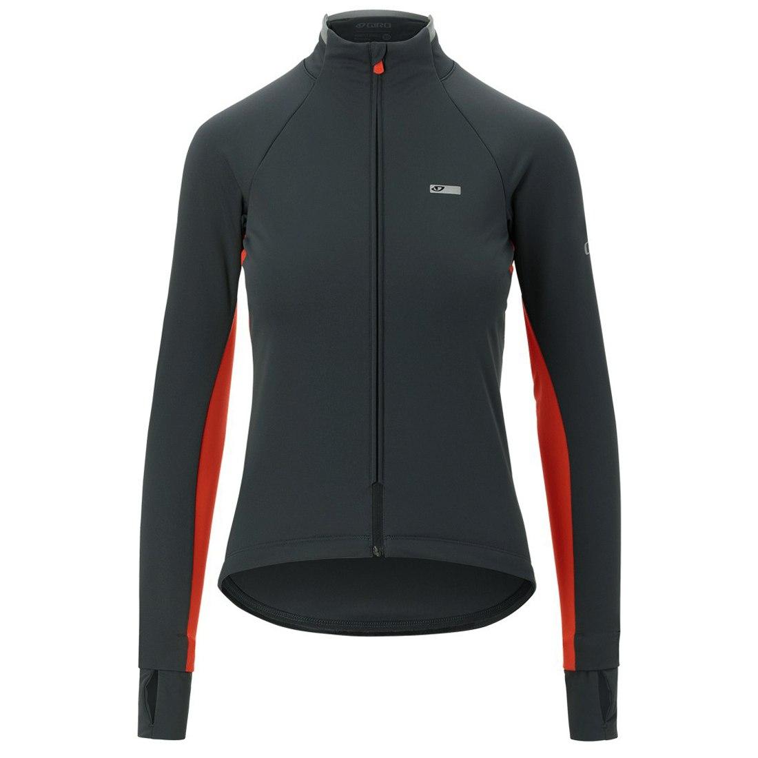 Giro Chrono Pro Alpha Jacket Women - vermillion