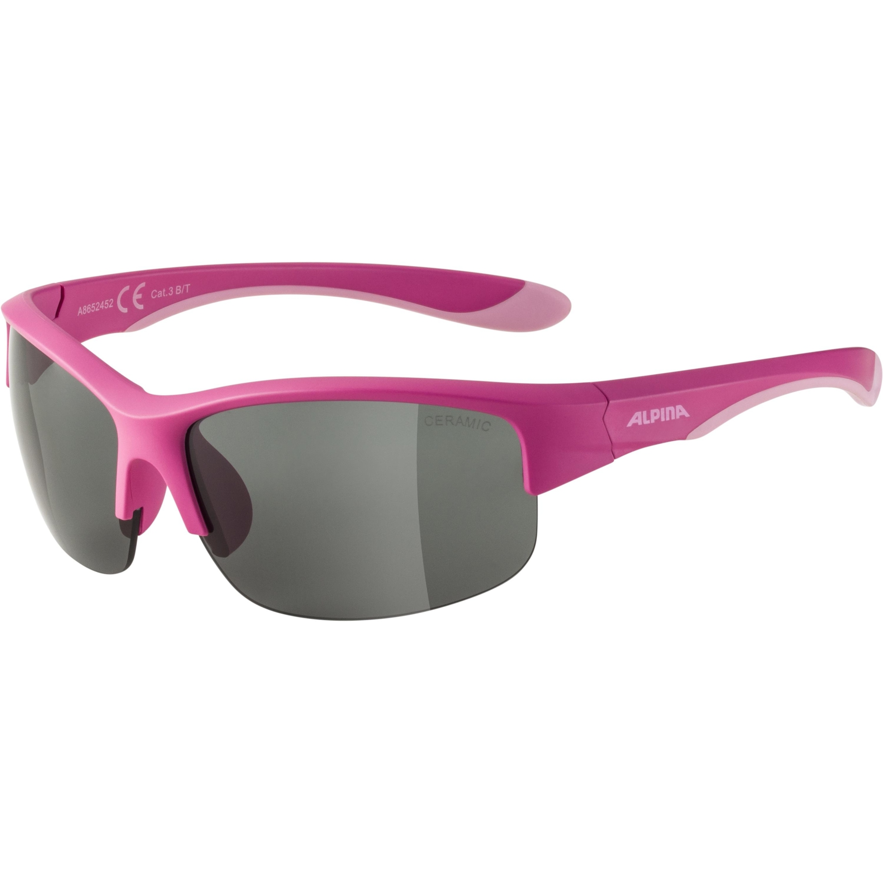 Alpina Flexxy Youth HR Kids Glasses - pink matt / black